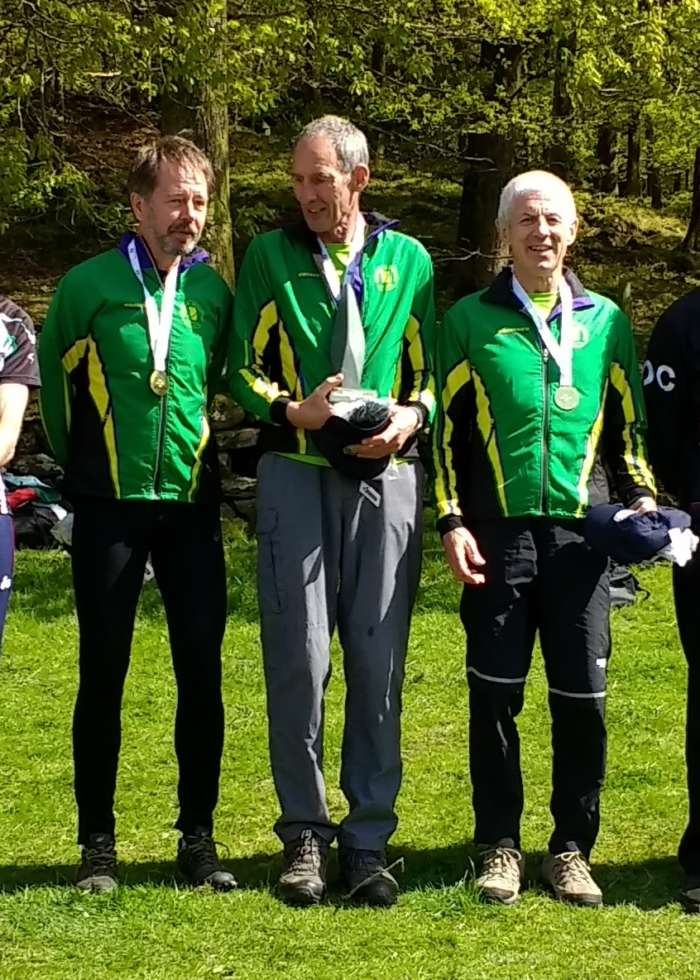 M60 Winning Team - Pete, Axel, Colin