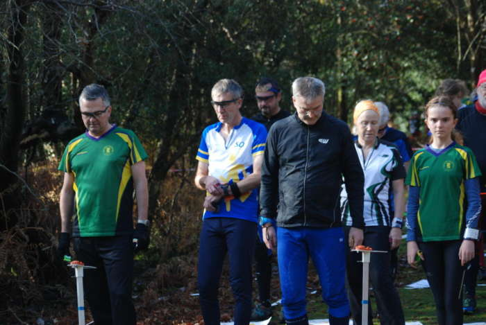 Sn Members At The Start Of The Scoa Champs