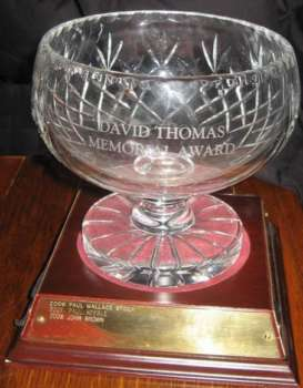 David Thomas Memorial Award